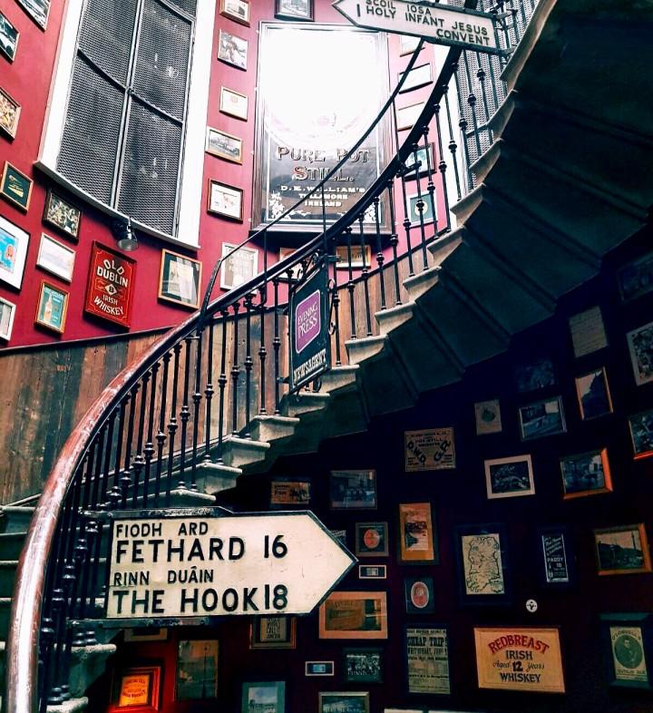 Merchants stairs