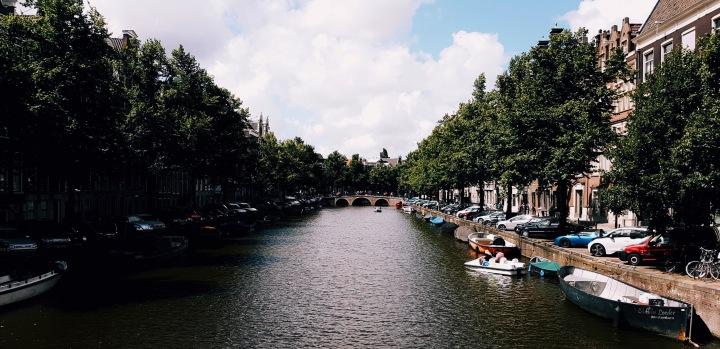 Polaroids from Amsterdam