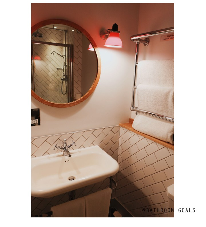 Bathroom text