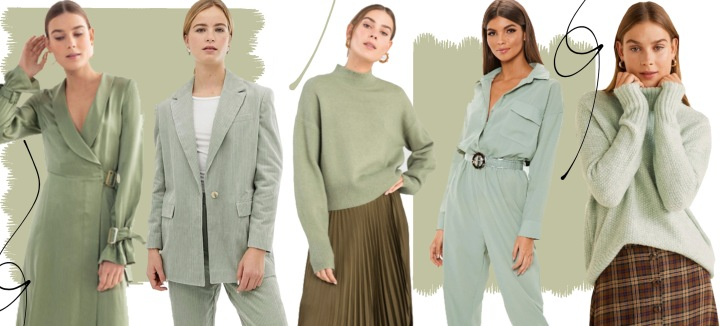 2019 Spring Colour Trend: Sage Green