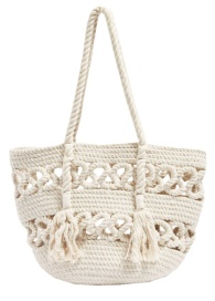 Topshop rope bag