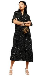 Topshop spot print dress