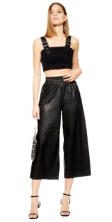 Topshop PU trousers