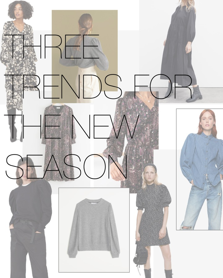 Three Trends for the new season