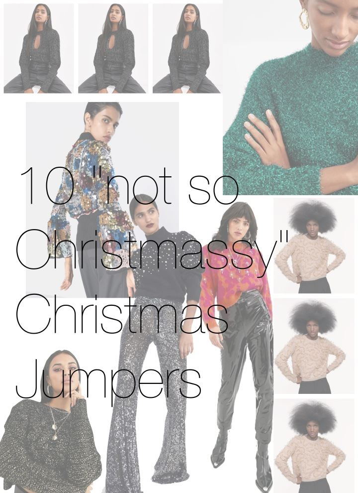 """10 """"not so Christmassy"""" ChristmasJumpers"""