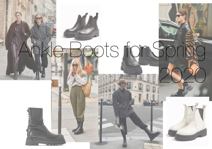 My Favourite Ankle Boots For Spring2020
