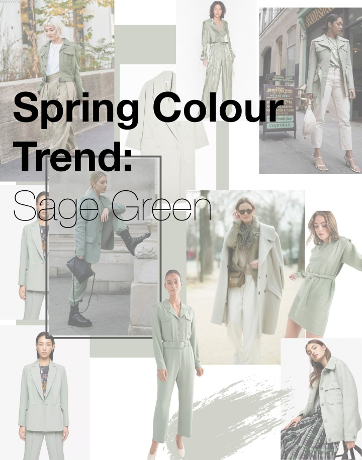 Spring Colour Trend: Sage Green – Updated For 2020