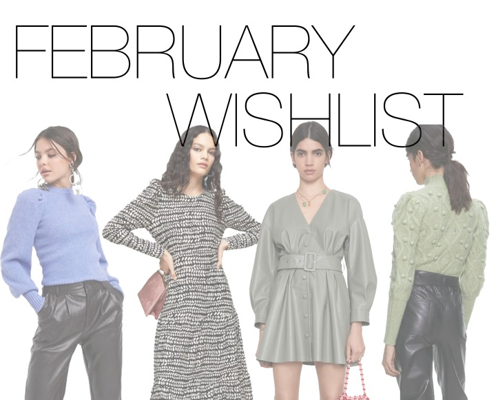 February New In Wishlist