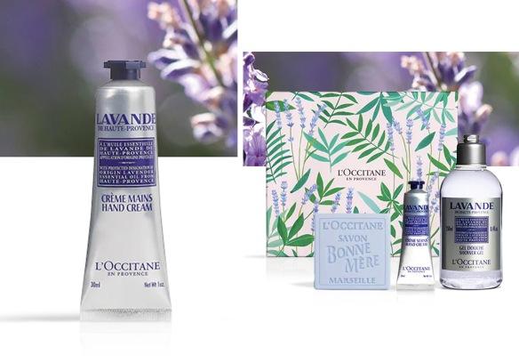 L'occitane lavender set